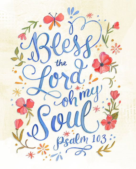 Salmo 103 bendice a Jehová oh mi alma version 2 por Makewells