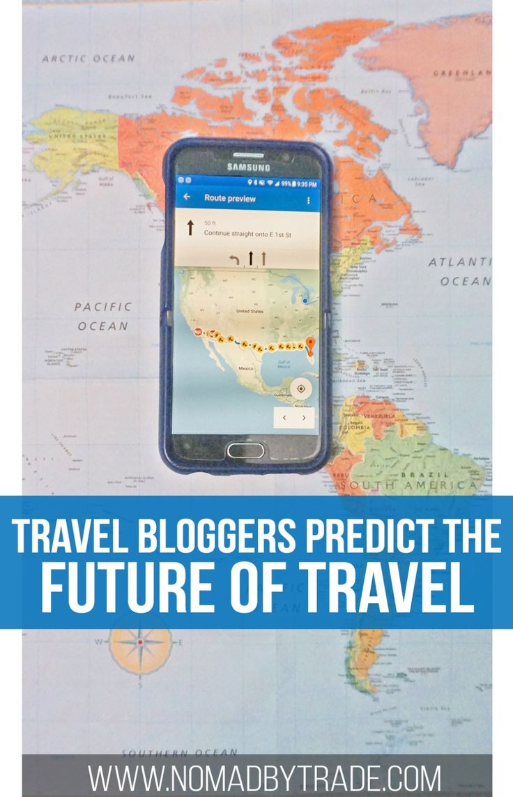 With cities like Venice and Barcelona fighting against mass tourism and technology rapidly changing, travel will look very different in the future. Several travel bloggers predict what the future of travel will look like. Technology in travel   Photography gear   Opening of borders
