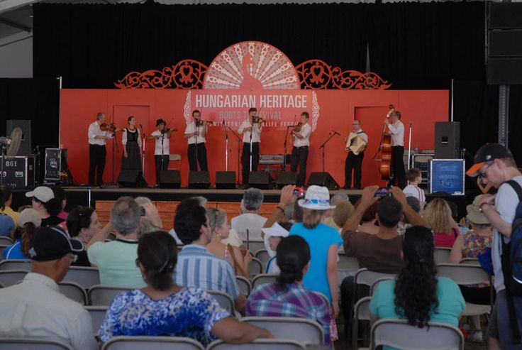 Musicians at Hungarian Roots to Revival, part of the 47th Smithsonian Festival in Washington DC in 2013.