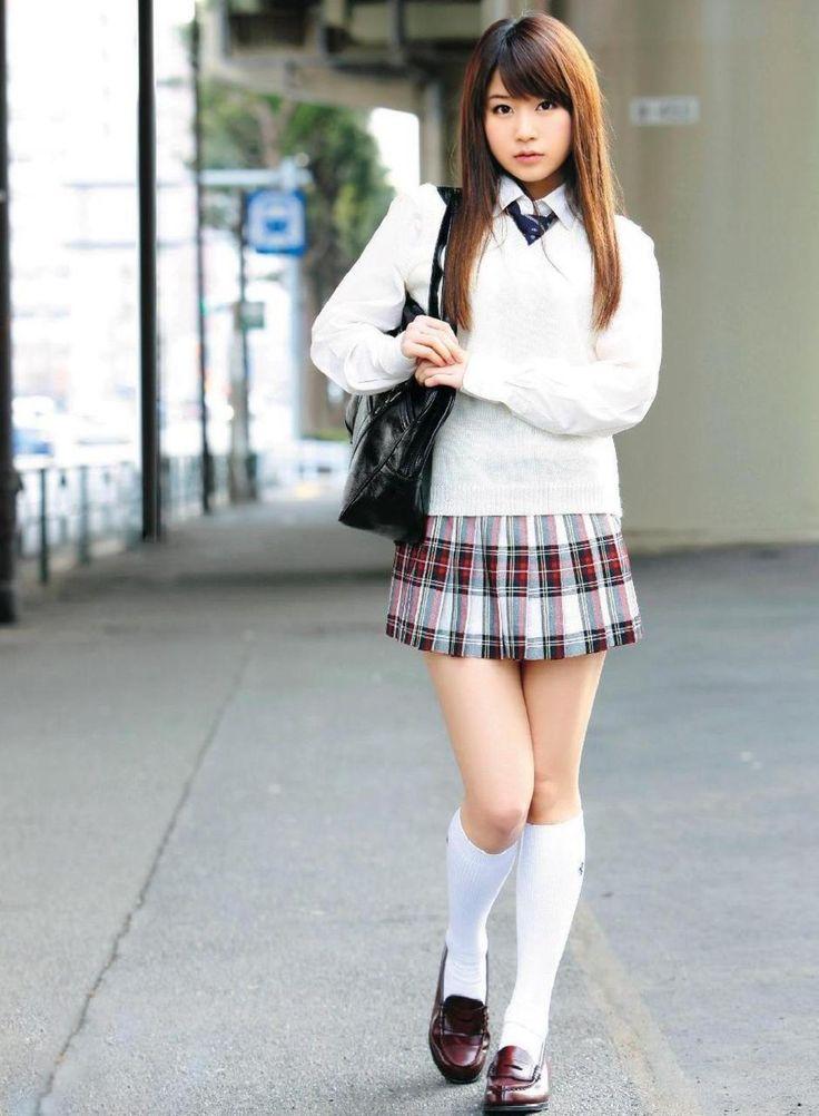 Услуги девушкам японки в мини-юбках натуральный
