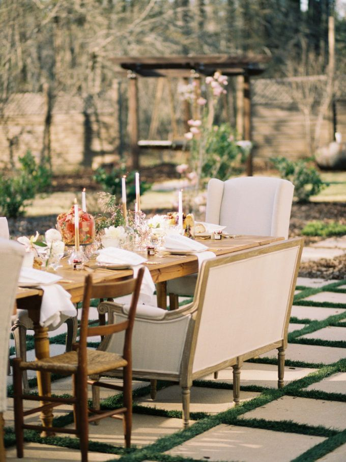 Behind-the-Scenes of Our Southern Dinner Party    Glitter, Inc.