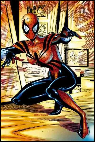 "Spider-Girl the daughter of Spider Man, May ""Mayday"" Parker,  #spidergirl #mayparker"