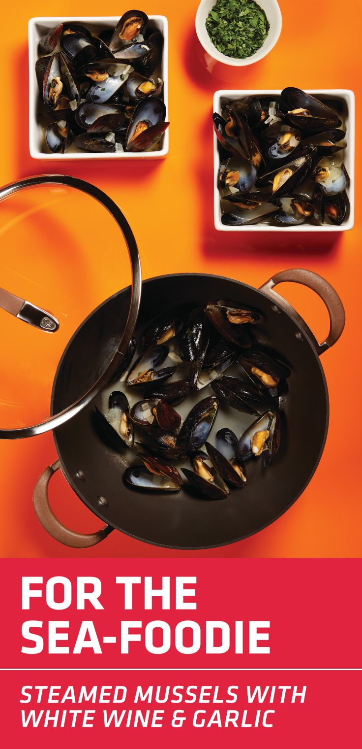 Steamed Mussels With White Wine And Garlic Steamed Mussels Mussels White Wine