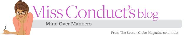 Top 5 etiquette skills - Miss Conduct - Boston.com... Give and receive compliments gracefully, write thank-you notes, write a clear and courteous business letter/email, admit when you don't know something and thus take appropriate action, and make a tasty one-pot meal.