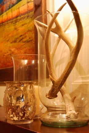 cute idea for a hunters wife like myself... better than a big dead deer head on your wall :)