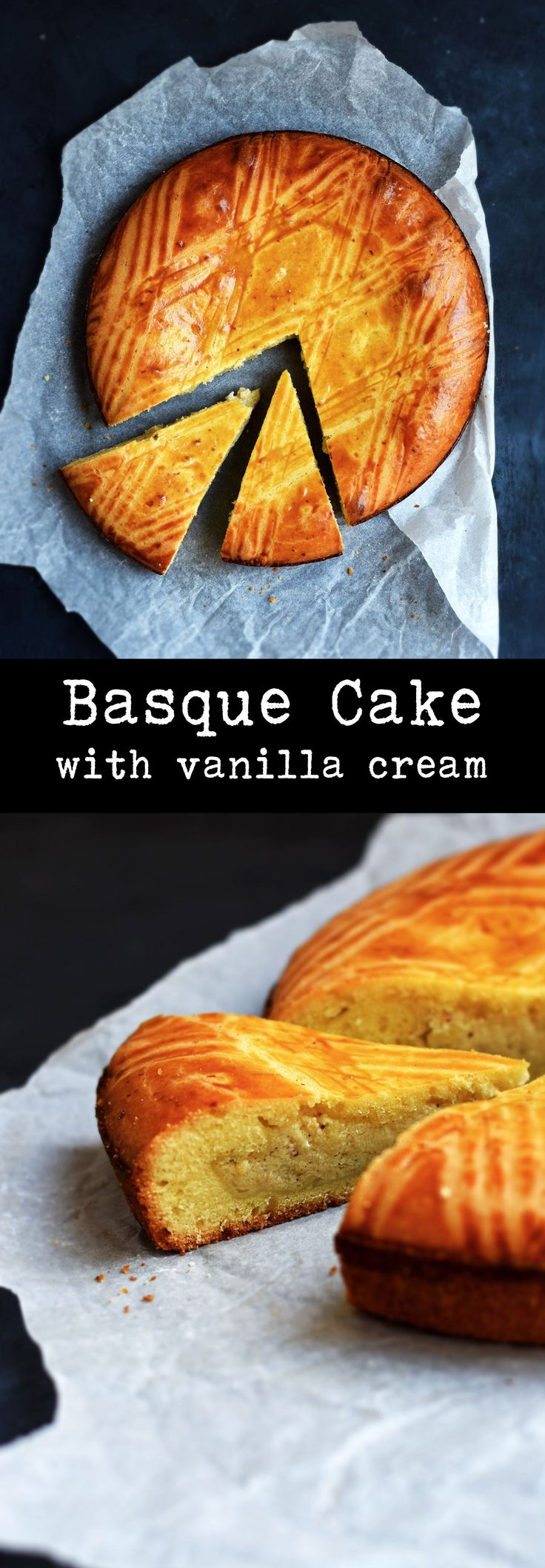 "The Basque Cake ( in French ""Gâteau Basque) is probably the most famous and traditional dessert from the Basque Region of France."