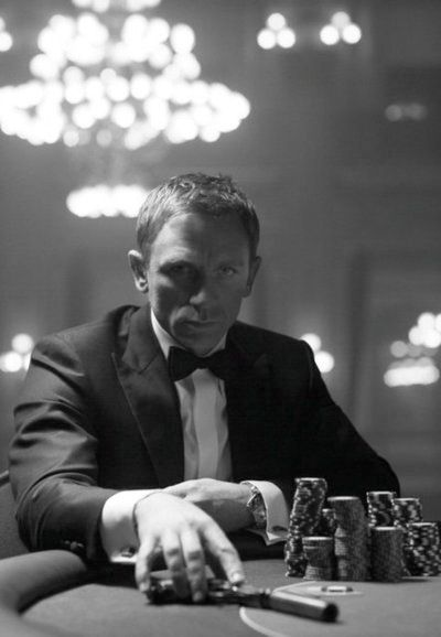 He wasn't just another pretty face in a suit with a gun. - Daniel Craig
