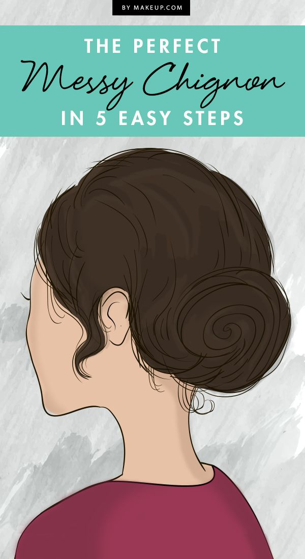Looking for an easy (but still oh-so-chic) hairstyle? We'll show you how to create the perfect messy chignon in 5 simple steps!