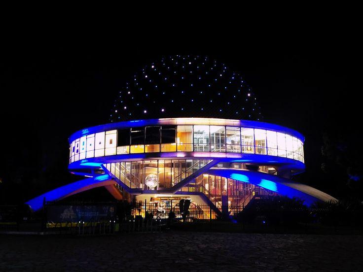 Planetario at Night, Palermo