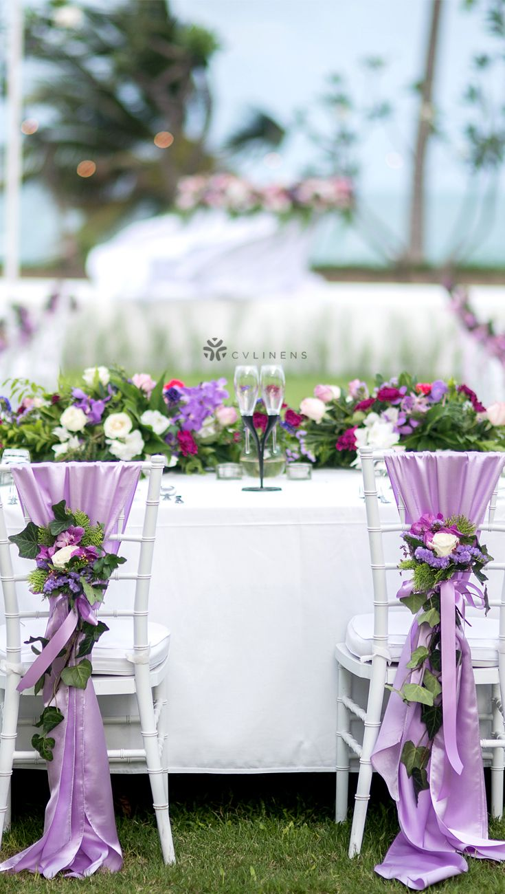 Outdoorl Beach Wedding Sweetheart Table Outdoor Wedding On A