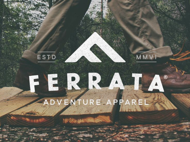 Branding for an outdoor apparel company. This actually came to life from an unused concept for a previous project, happy to see it repurposed!  Crafted at Green Chameleon.  I tweet.