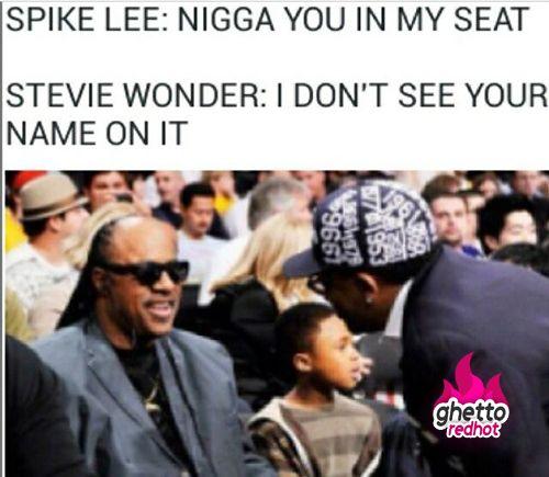 Spike Lee vs. Stevie Wonder • Ghetto Red Hot