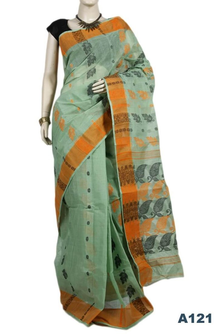 11% OFF - Traditional Cotton Saree (A121)