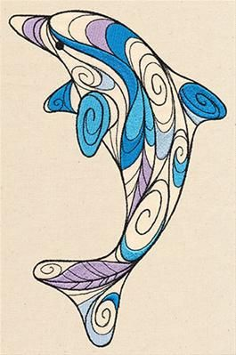 Doodle Dolphin_image