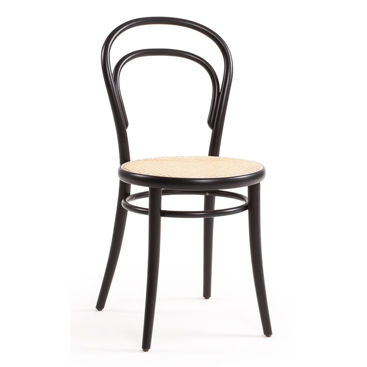 No 14 stol, svart/rotting i gruppen Möbler / Stolar & Pallar / Stolar hos RUM21.se (124366)