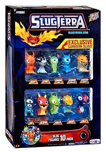 Slugterra 10 figures pack #toys #kids #play #fun
