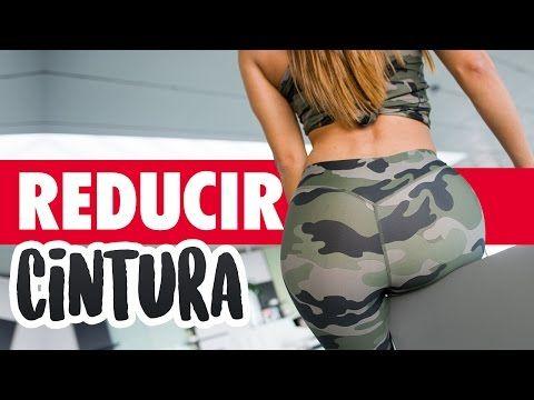 REDUCIR CINTURA 10min Ejercicios vientre plano | Stop Flat Stomach - YouTube