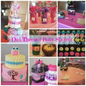 Owl Themed Baby Shower Table Decoration Ideas - Easy Green Mom