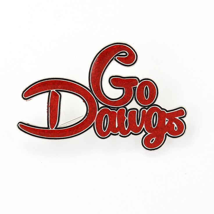 Georgia Slogan Pin