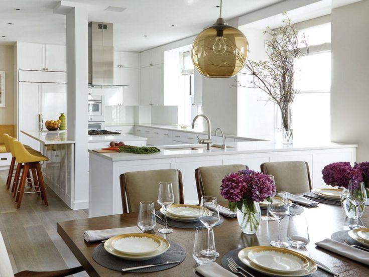 Manhattan Home Featured In New York Spaces Magazine Incorporates Niche  Modern Pendant Light. Https: