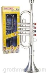 Groth Music Company - Bontempi Toy Trumpet - Silver