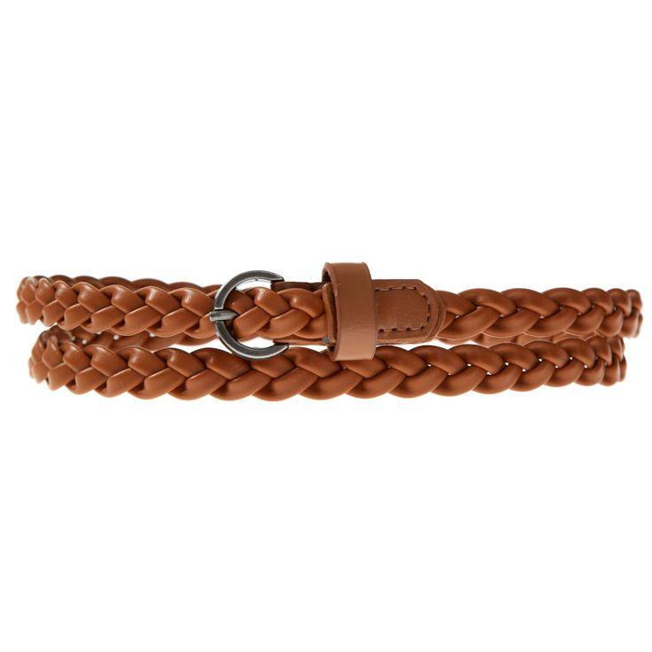 Cinturón fino trenzado Mujer - Kiabi - 1,40€