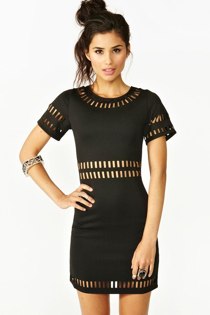 Long dress sole mio black dress