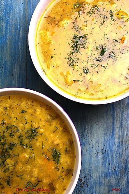R'n'G Kitchen: Kremowa zupa ogórkowa z kaszą
