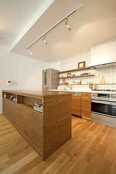 キッチン事例:キッチン(兵庫県F邸)