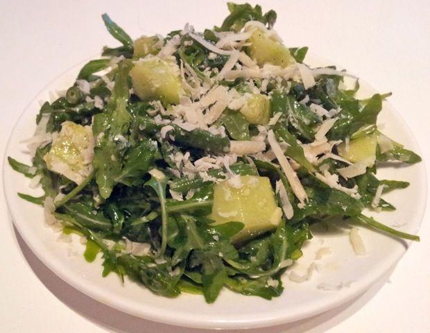 Salade verte italienne à la roquette