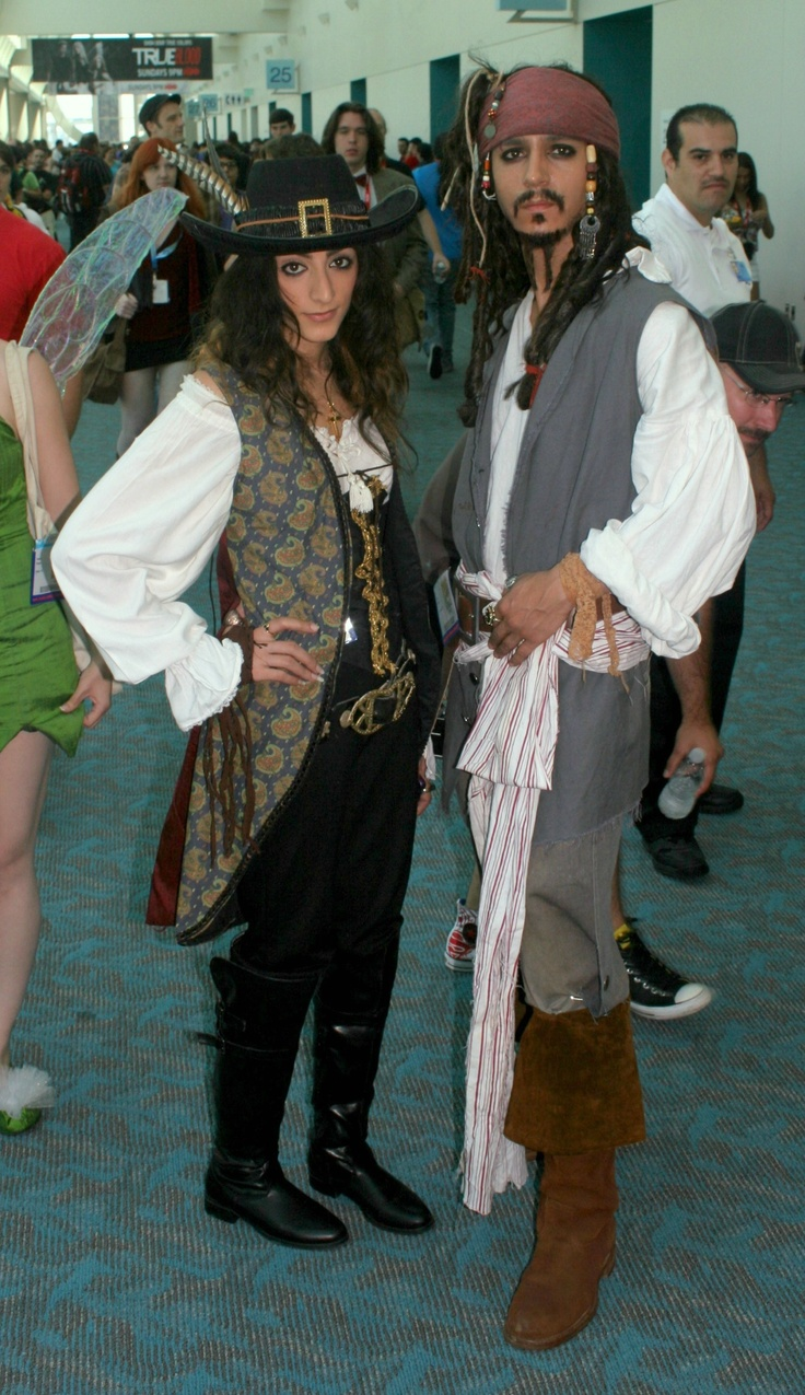 Jack Sparrow & Angelica Malon from Pirates of the Caribbean 4: Stranger Tides