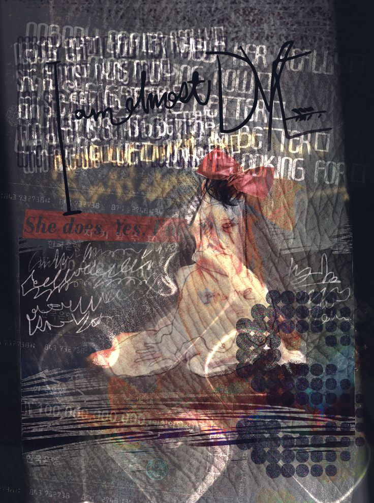 """I am almost dead"" Graphic work 12 Jul 2016"