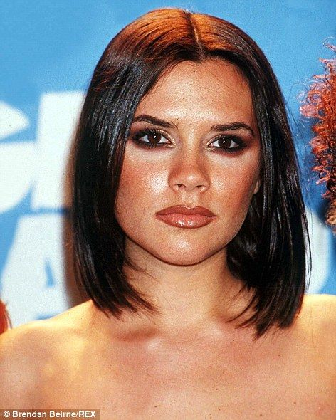 Beckham hair history: Sexy tresses through time We're wondering if Victoria Beckham's brown lip liner will ever make a beauty comeback.We're wondering if Victoria Beckham's brown lip liner will ever make a beauty comeback. Vic Beckham, Beckham Hair, Victoria Beckham, Posh Spice Hair, 1990s Hair, 1990 Style, Queen Vic, Bouncy Hair, Carnival