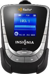 Insignia™ - HD Radio Portable Player - Black/Silver Image