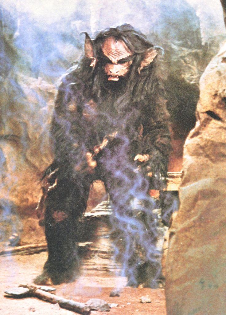 The giant Gorax from Ewoks : Caravan of Courage. | The ...
