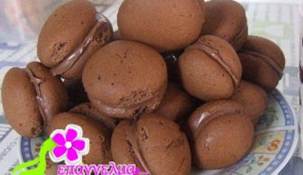 Μερεντάκια (Γεμιστά μπισκότα με μερέντα)  από την Ανδριάννα  και το «Επάγγελμα γυναίκα» !