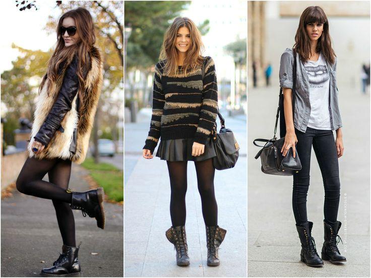 Looks estilosos e femininos usando coturno!!! - Moda it