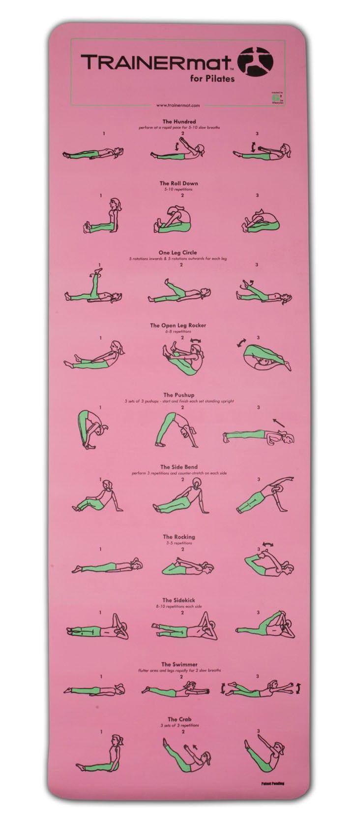 DIY Pilates Trainer Mat