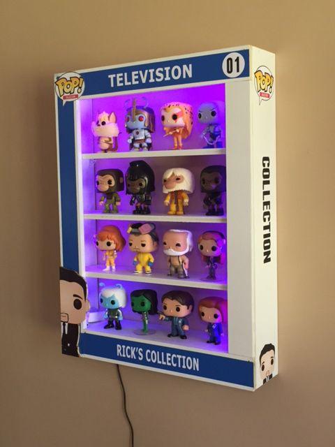 Custom POP Display Case with LED Lights