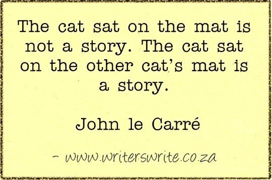 A story - John le Carré  Bird By Bird: Some Instructions on Writing and Life by Anne Lamott