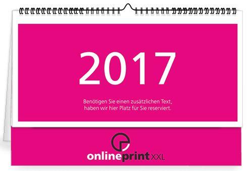 Erstellen Sie einen Kalender speziell für Ihr Unternehmen online bei www.onlineprintXXL.com #kalender #stehkalender #spiralkalender #2017 #2k17