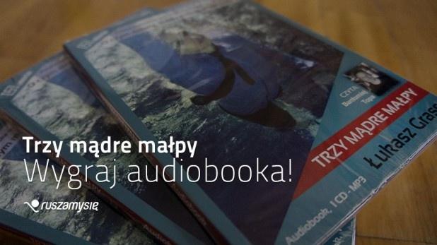 Pamiętacie nasz wywiad z Łukaszem Grassem, autorem książki i pierwszego sportowego audiobooka Trzy mądre małpy? http://blog.ruszamysie.pl/do-wygrania-pierwszy-sportowy-audiobook-trzy-madre-malpy/