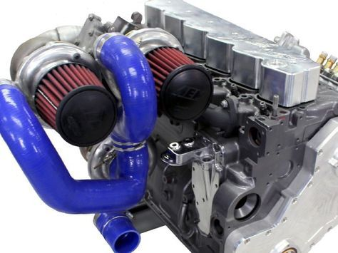 Triple Turbo Kit for 1994-2007 5.9L Cummins Diesel Engines  www.DieselPowerSource.com