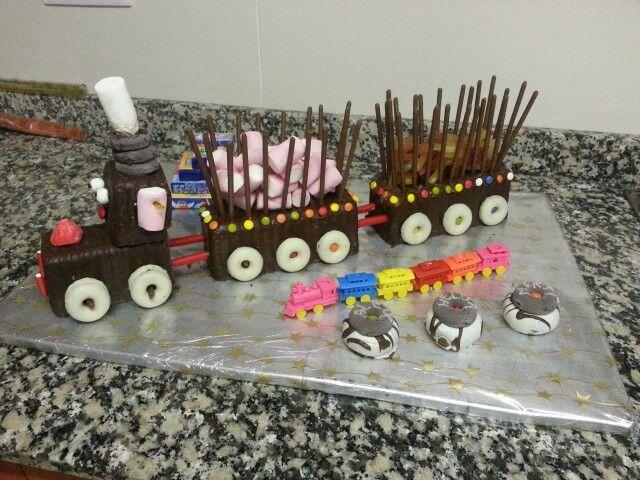 Tren de xocolata i llaminadures