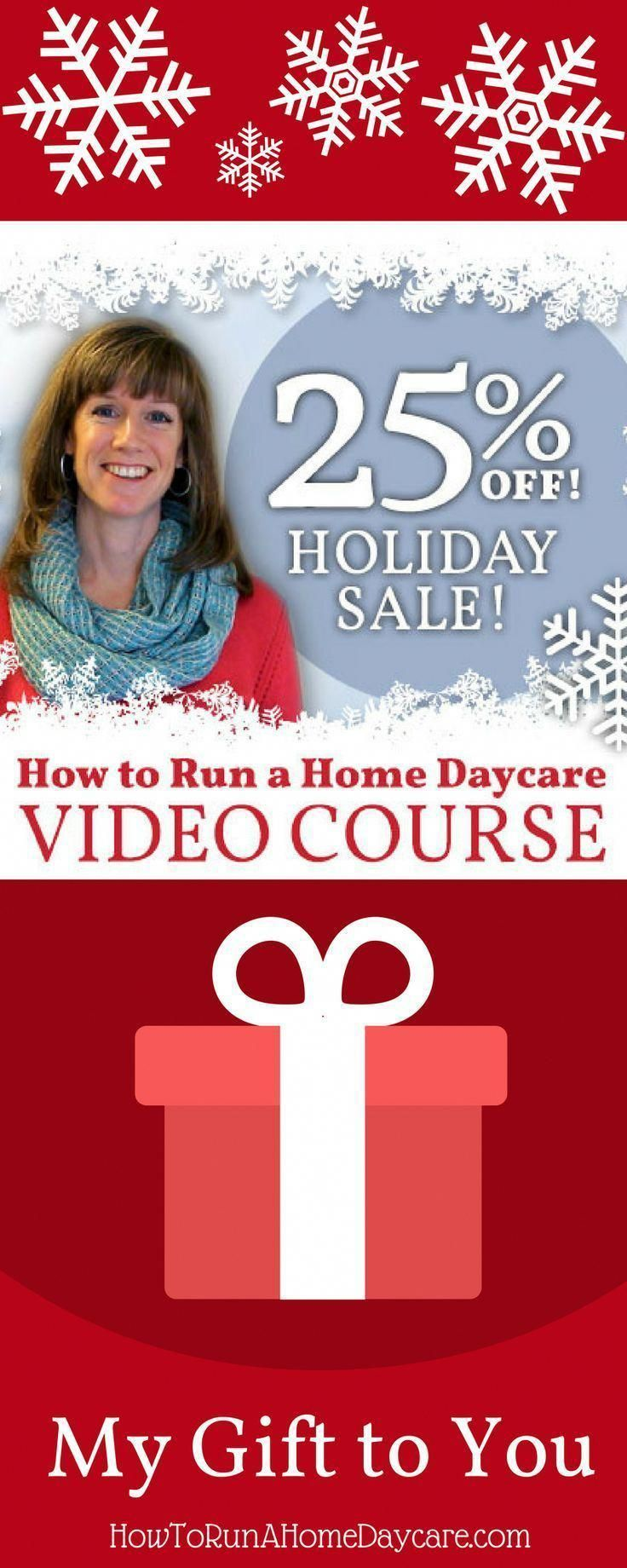 Want To Learn How Start Your Own Daycare Business Now Is The Time My Video Course On For Two Weeks Only Runningadaycare