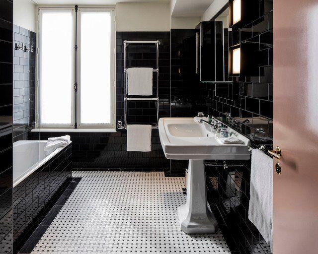53 best powder rooms images on pinterest bathroom bathrooms and bath room. Black Bedroom Furniture Sets. Home Design Ideas