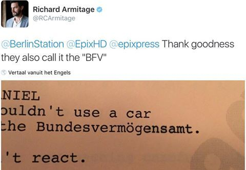 BundesVerfassungsamt or BundesVermögensamt? Script error? Red herring? Hint? Whatever, but Richard is wrong.