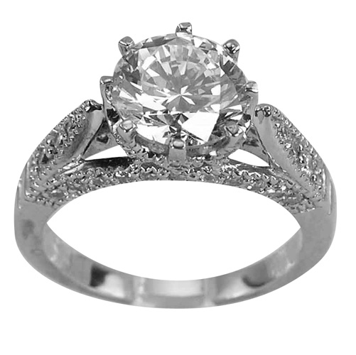 268 Best Antique Engagement Rings Images On Pinterest