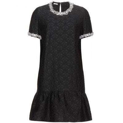 #covetmeMiu Miu - Embellished jacquard dress #dress #miumiu #women #designer #covetme
