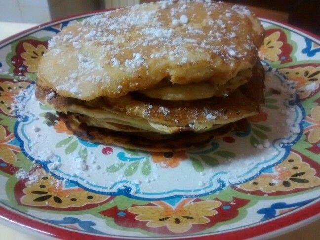 Pancake mela e cannella